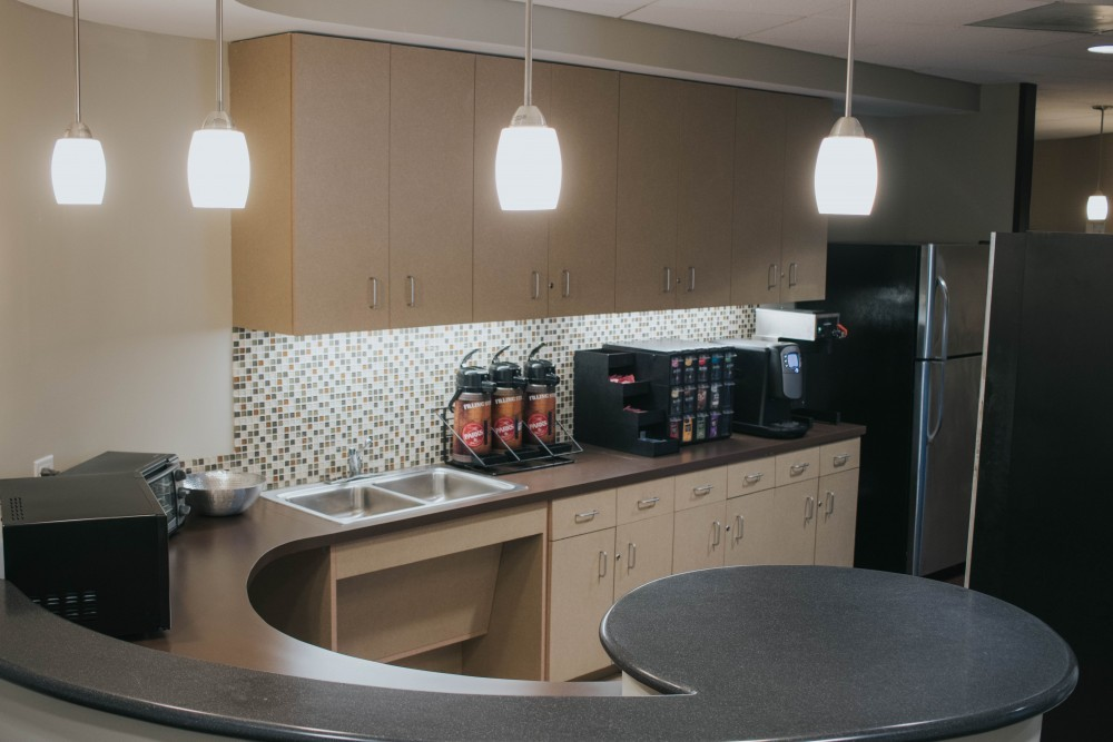 Kitchen at Executive Workspace Downtown Austin