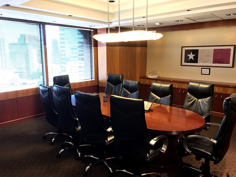 Boardroom at Executive Workspace Downtown Austin