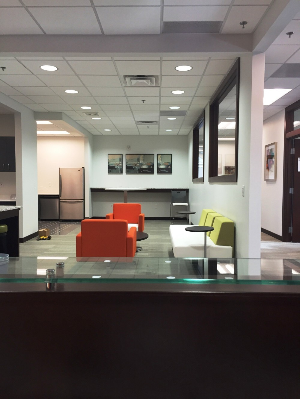 Lobby at Office Evolution Centerville