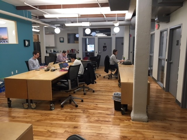 Open Coworking Space at Coalition Boston