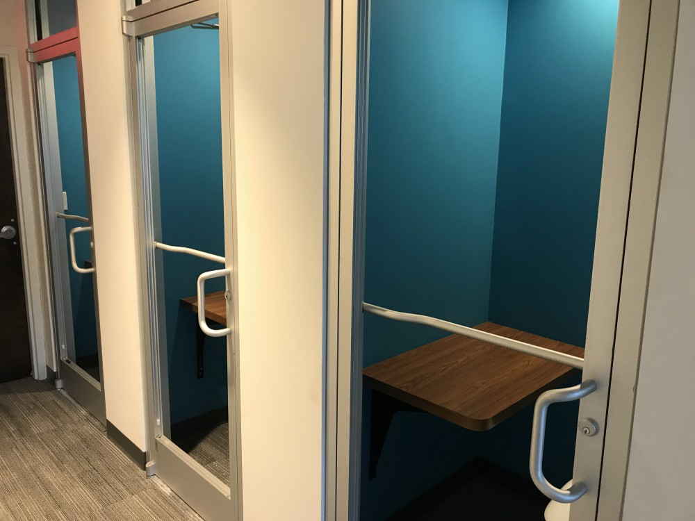 Phone Booths at SharedSpace Dunwoody