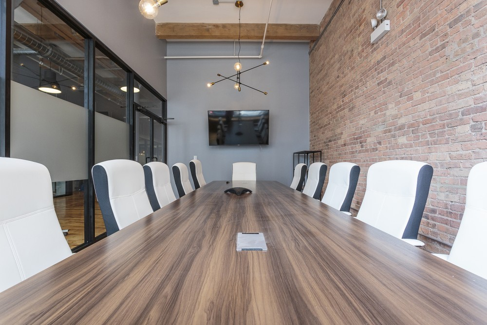 Conference Room at CoGen Coworking - Chicago