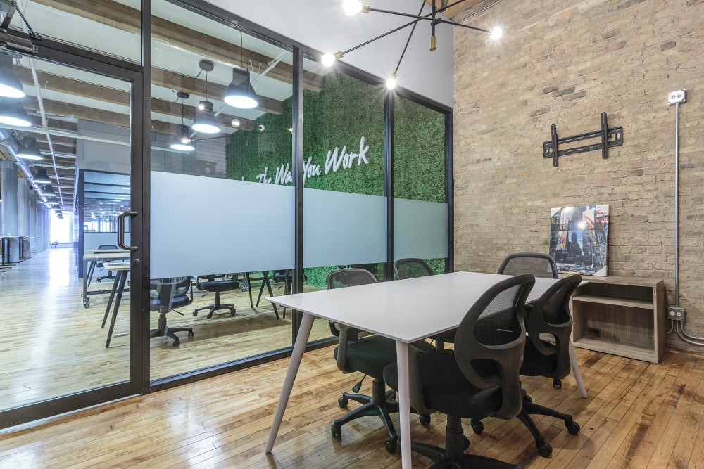 Small Conference Room at CoGen Coworking - Chicago