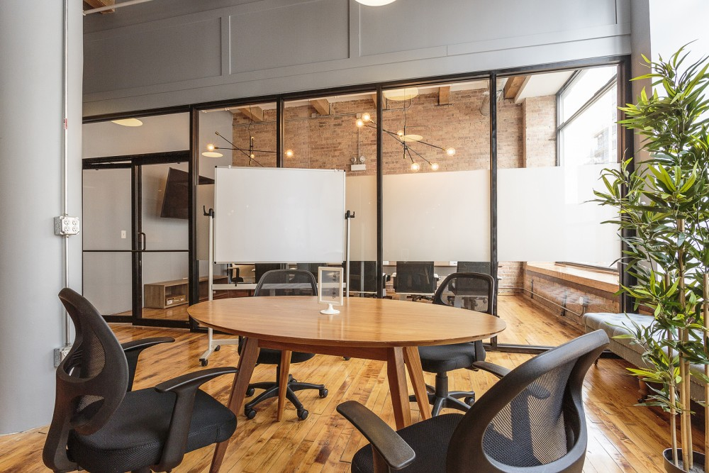 Workspace at CoGen Coworking - Chicago