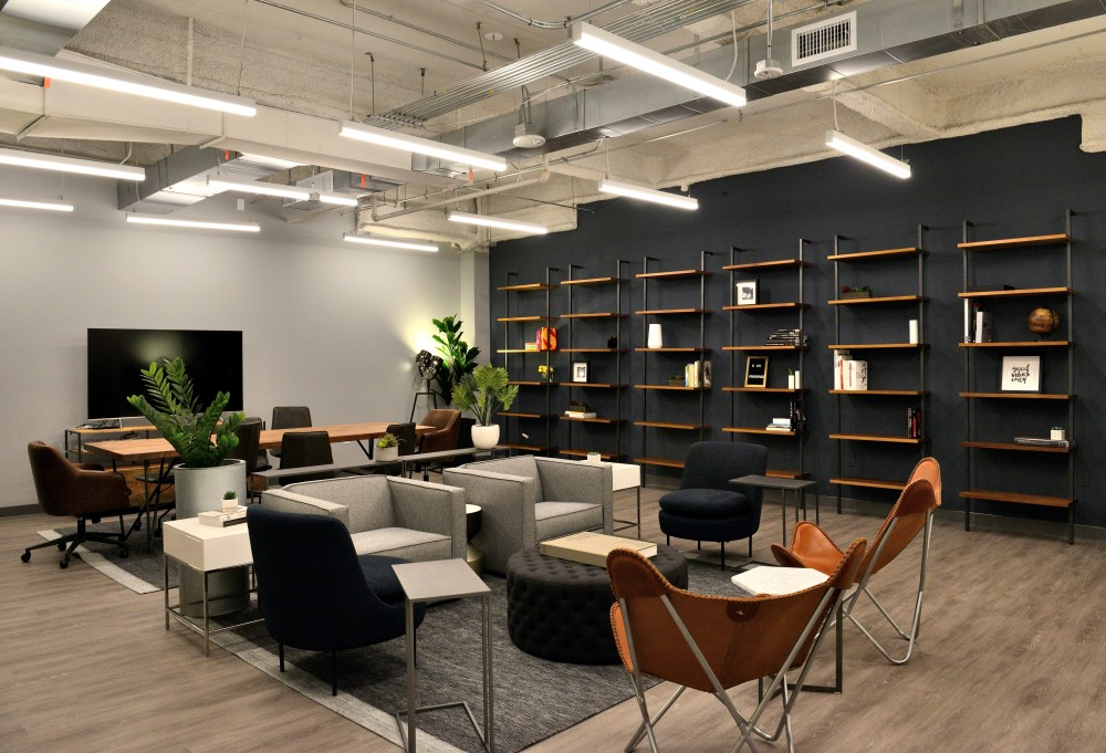 Coworking Area at IgnitedSpaces Downtown Los Angeles